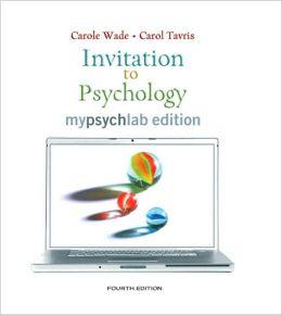 Invitation to Psychology, Mypsychlab Edition