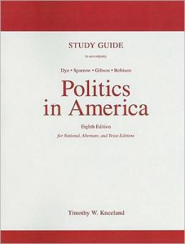 Study Guide for Politics in America, Texas Edition