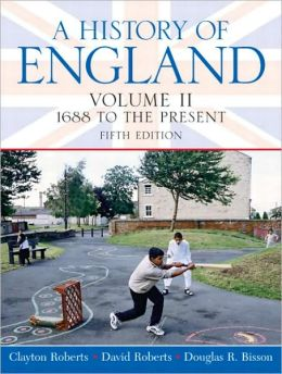 A History of England, Volume II: 1688 to the Present