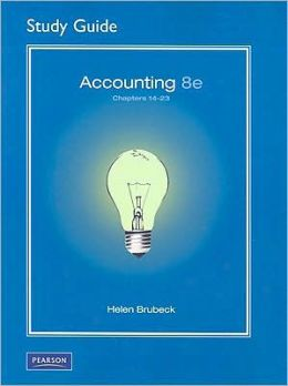 Study Guide 14-23 for Accounting, 8/e