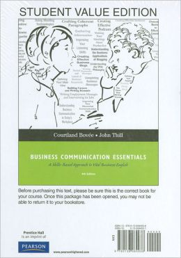 Studenty Value Edition for Business Communication Essentials