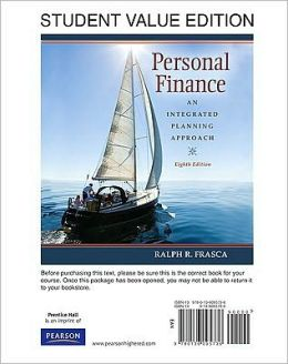 Personal Finance: An Integrated Planning Approach, Student Value Edition