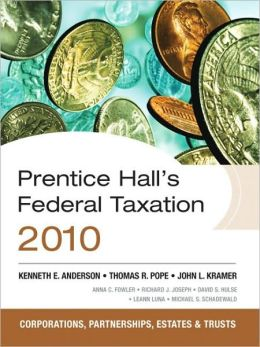 Prentice Hall's Federal Tax 2010: Corporations