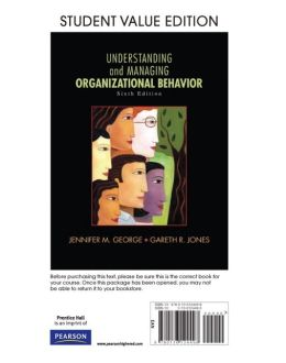 Understanding and Managing Organizational Behavior, Student Value Edition