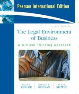 Legal Environment of Business: International Edition