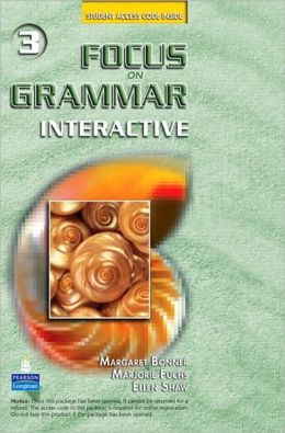 Focus on Grammar Interactive 3, Online Version (Access Code Card)