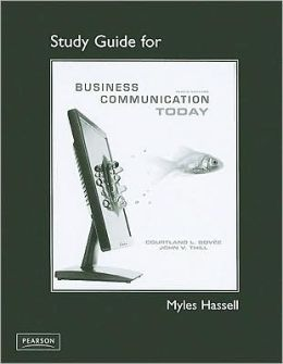 Study Guide for Business Communication Today