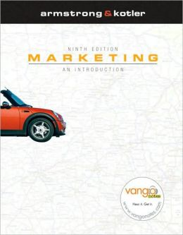 Marketing: An Introduction and MyMarketingLab Package