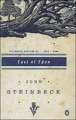a review of steinbeck book east of eden East of eden john steinbeck (penguin classics £799, pp601) buy it at bol 'i've been practising for a book for 35 years,' said steinbeck of his most ambitious and autobiographical novel.