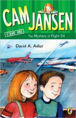 The Mystery of Flight 54 (Cam Jansen Series #12)