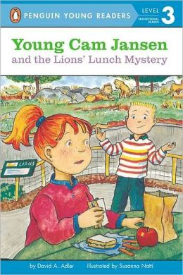 Young Cam Jansen and the Lions' Lunch Mystery (Young Cam Jansen Series #13)