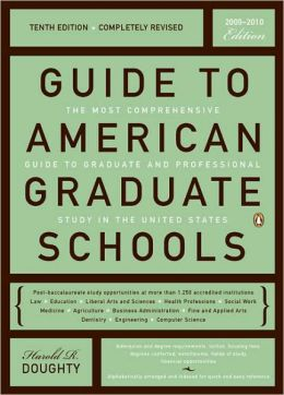 Guide to American Graduate Schools