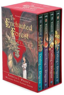 The Enchanted Forest Chronicles: Dealing with Dragons/ Searching for Dragons/ Calling on Dragons/ Talking to Dragons