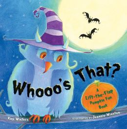 Whooo's That?: A Lift-the-Flap Pumpkin Fun Book