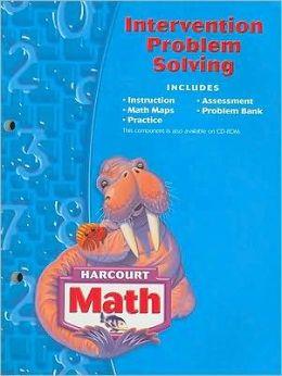 Harcourt School Publishers Math: Intervention Problem Solving Workbook Grade 3