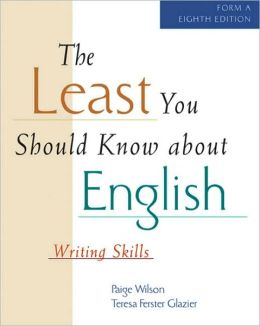 The Least You Should Know About English (Form A)