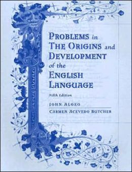 Workbook for Algeo/Pyle's The Origins and Development of the English Language, 5th