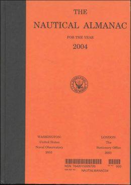 Nautical Almanac for the Year 2004