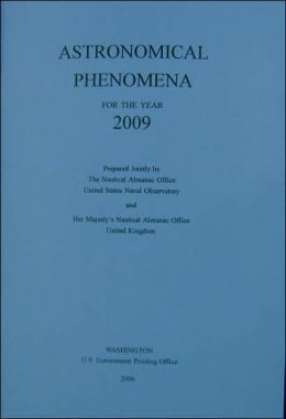 Astronomical Phenomena for the Year 2009