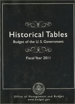 Historical Tables: Budget of the U.S. Government, Fiscal Year 2011
