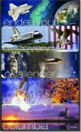 NASA Space Shuttle Bookmarks: Atlantis, Challenger, Columbia, Discovery, Endeavour: Atlantis, Challenger, Columbia, Discovery, Endeavour (Set of 5)