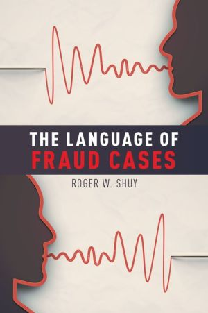 The Language of Fraud Cases