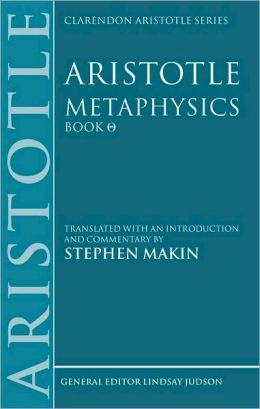 Aristotle: Metaphysics Theta: Translated with an Introduction and Commentary
