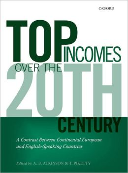 Top Incomes Over the Twentieth Century: A Contrast Between Continental European and English-Speaking Countries