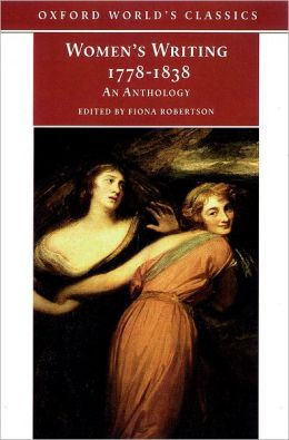 Women's Writing, 1778-1838: An Anthology