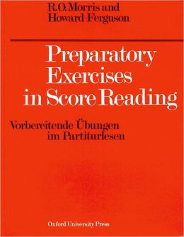 Preparatory Exercises in Score Reading