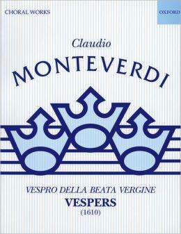 Vespers (1610): Performing score