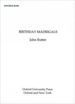 Birthday Madrigals: Double bass part