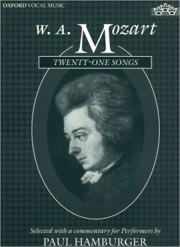 W.A. Mozart Twenty-One Songs
