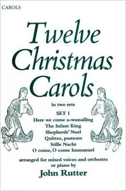 Twelve Christmas Carols Set 1: Vocal score