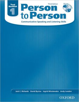 Person to Person Third Edition 1: Test Booklet with Audio CD