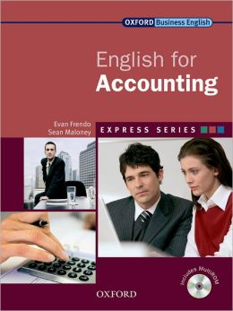 English for Accounting [With CDROM]