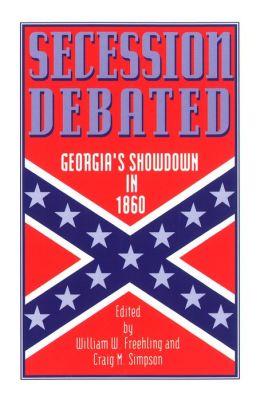 Secession Debated: Georgia's Showdown in 1860