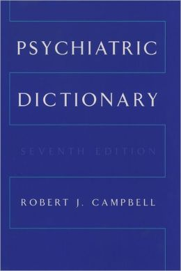Psychiatric Dictionary