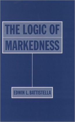 The Logic of Markedness
