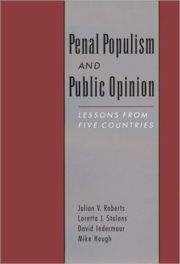 Penal Populism and Public Opinion: Lessons from Five Countries
