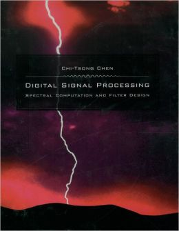 Digital Signal Processing: Spectral Computation and Filter Design