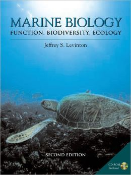 Marine Biology: Function, Biodiversity, Ecology with CD-ROM