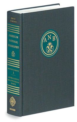 American National Biography: Supplement 1