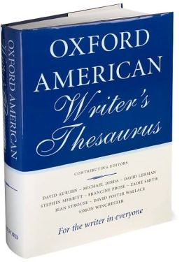 Oxford American Writer's Thesaurus