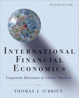 International Financial Economics: Corporate Decisions in Global Markets