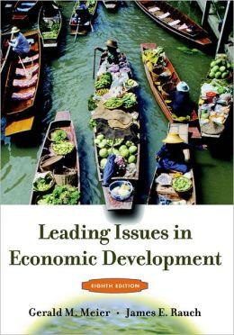 Leading Issues in Economic Development