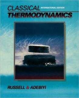Classical Thermodynamics: International Edition