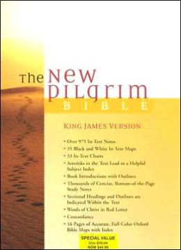 The New Pilgrim Bible, Student Edition: King James Version (KJV), burgundy bonded leather, thumb-indexed