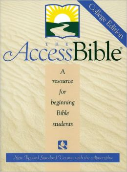 The Access Biblei'A: A resource for beginning Bible students New Revised Standard Version with Apocrypha