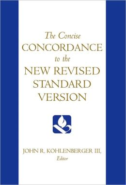The Concise Concordance to the New Revised Standard Version
